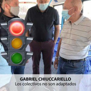 Semáforo rojo. Gabriel Chiuccariello. Bahía Política